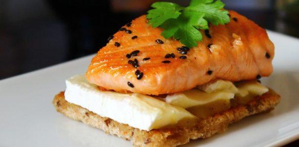 receta fácil salmón